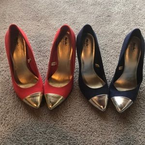 2 Pairs of Mossimo Pumps